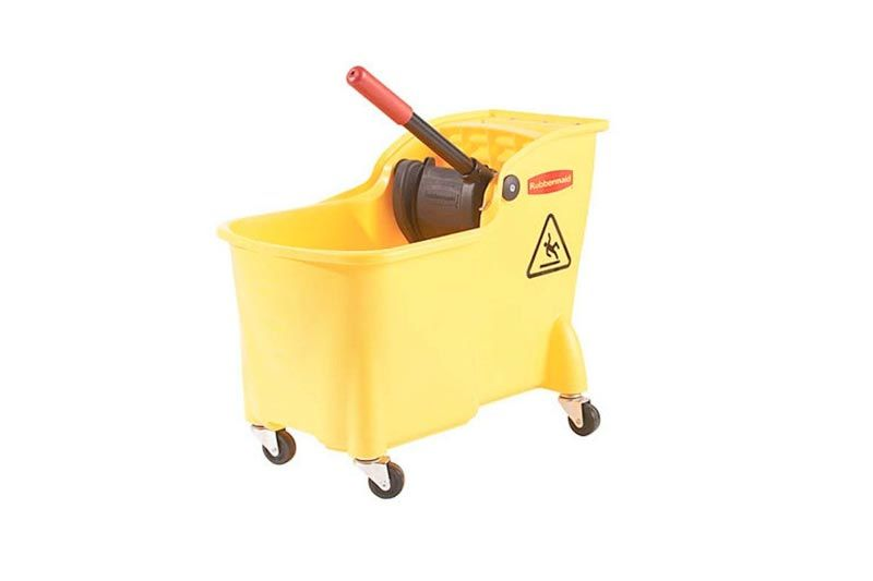 Rubbermaid Professional Plus Commercial Wringer Mop Bucket, 28 qt.