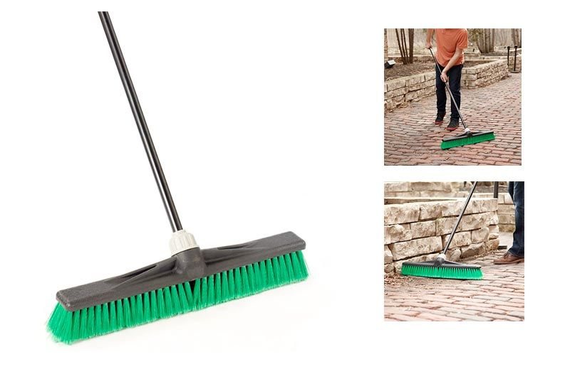"Professional 24"" Multi-Surface Maxi-Lok Push Broom"