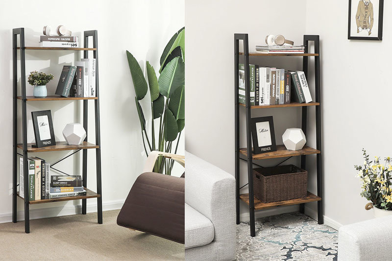 Top 10 Best Ladder Shelves to Decorate Your Room in Review 2021
