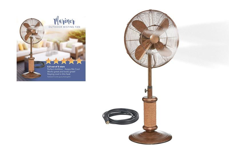 Battery Operated Fan, Handheld Portable USB Misting Fan with Rechargeable Battery (2-7 hours) for Outdoor Activity such as Travel, Hiking, climbing or Used as Indoor Desktop Fan