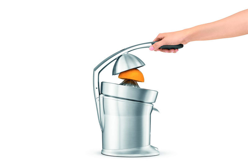 ie-Cast Stainless-Steel Motorized Citrus Press