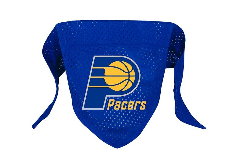 Hunter MFG Indiana Pacers Mesh Dog Bandana, Small