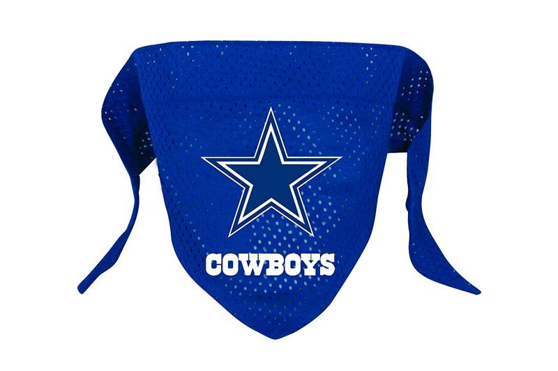 Hunter MFG Dallas Cowboys Mesh Dog Bandana, Small