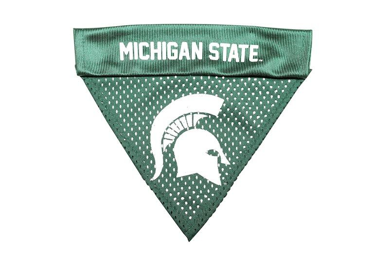 Pet Goods NCAA Michigan State Spartans Collar Bandana, One Size