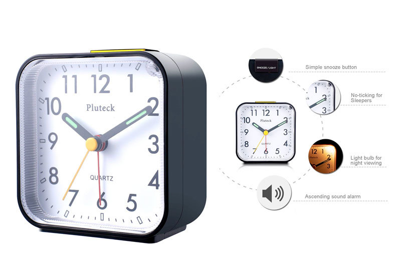 Top 10 Best Travel Alarm Clocks for Traveller in Review