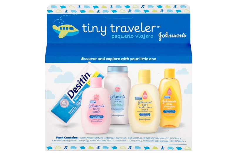 Tiny Traveler, Baby Bath And Baby Skin Care Products, Travel Gift Set, 5 Items