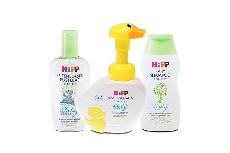 Baby Shampoo, Body Wash, and Bubble Bath Set: Tear-Free, Gentle and Hypoallergenic