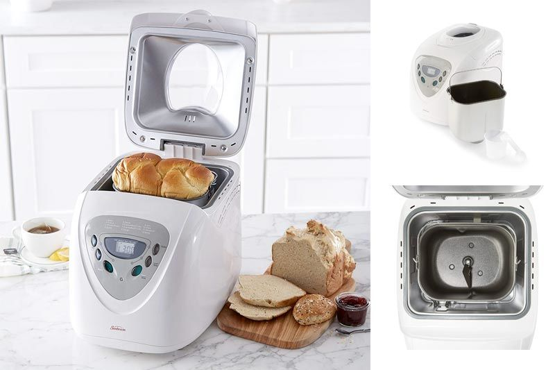 Programmable Bread Maker, 2 Pound, White