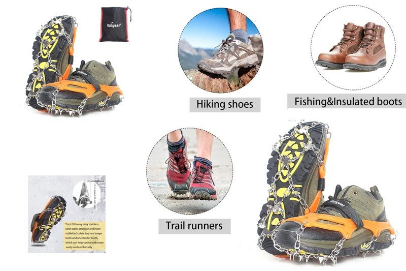 Top 10 Best Snow Traction Cleats for Outdoor Recreation in Review
