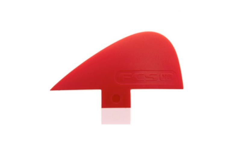 FCS VS Knubster Centre Keel Set Fin X Small Red