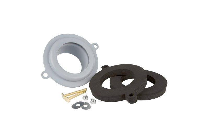 Plumbcraft 7140300 Seal Tight Waxless Toilet Gasket Kit - Universal Fit Any Toilet
