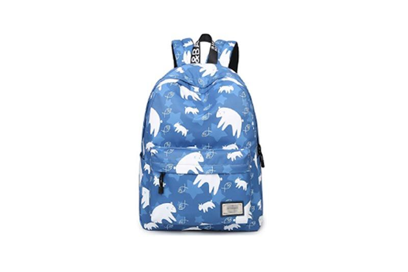 Casual Style Canvas Laptop Backpack School Bag Travel Daypack Handbag