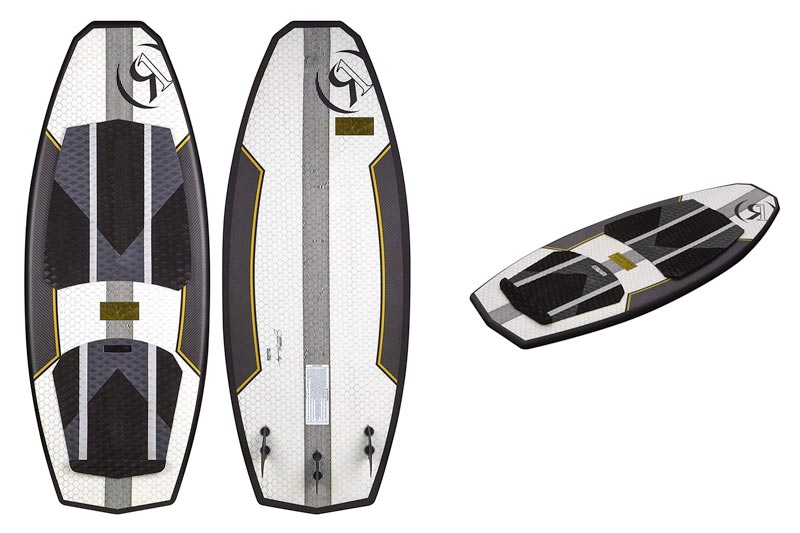 Ronix The Blender Hex Shell Wakesurf Board 2017