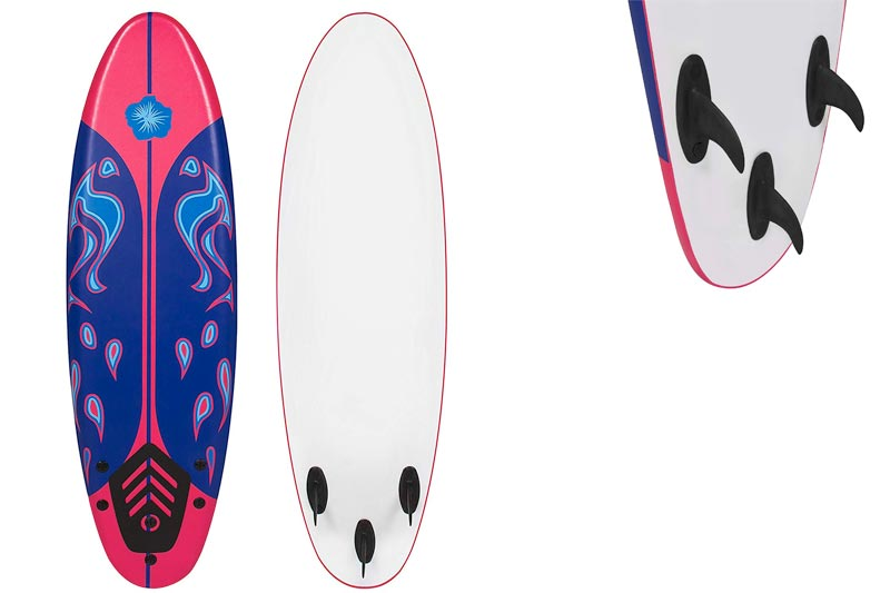 Best Choice Products Surfing Surf Beach Ocean Body Foamie Board Surfboard