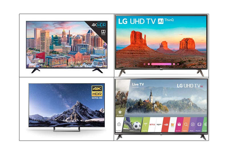 Best 4K Ultra HD Smart LED TV Under 500 USD in Review 2018