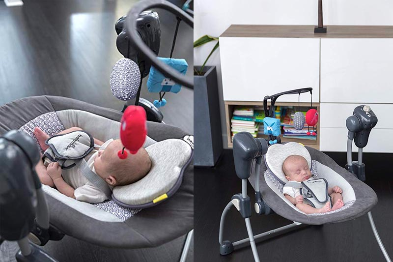 Babymoov Lovenest | Patented Pillow for Baby and Infant Head Support & Flat Head Syndrome Prevention (Pick Your Color)
