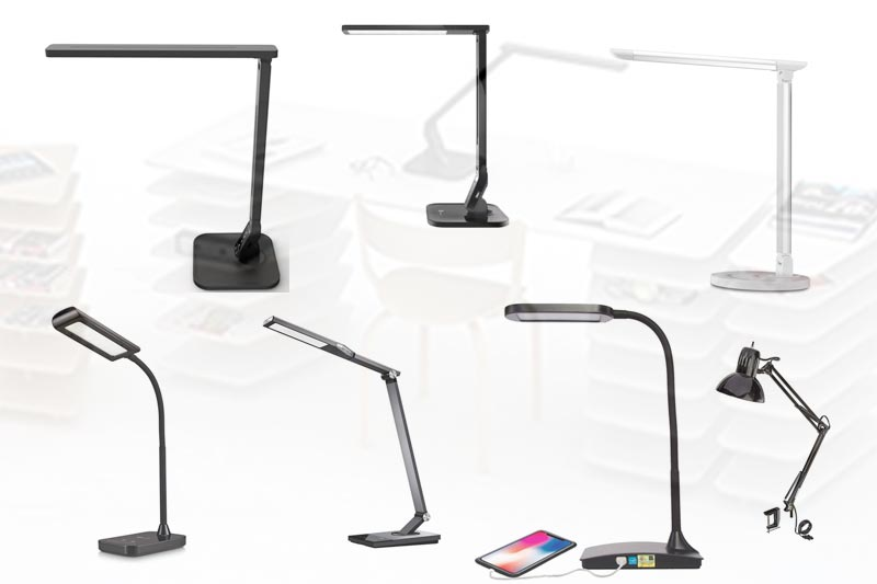 Best Cheap LED Desk Lamp for Studying in Review 2018