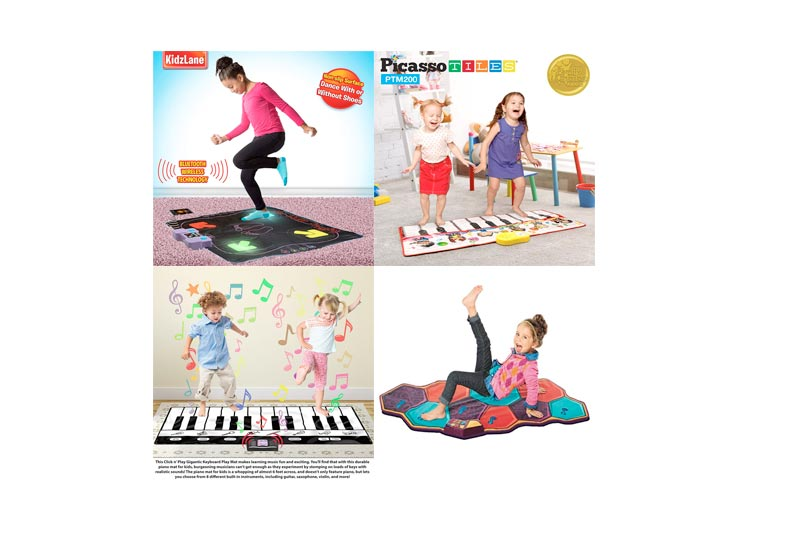 Best Colorful Electronic Dance Mat for Kids in Review 2018