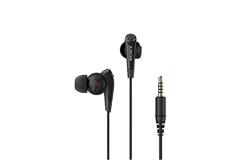 Original Black Sony Digital Noise Cancelling Headset Earphone MDR-NC31EM for Xperia Z2