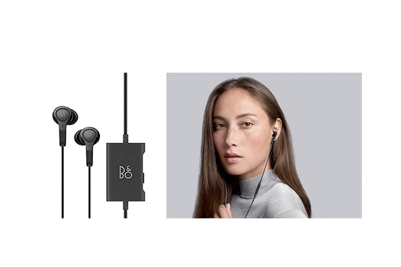 B&O Play Bang & Olufsen 1644526 Beoplay E4 Advanced Active Noise Cancelling Earphones (Black)