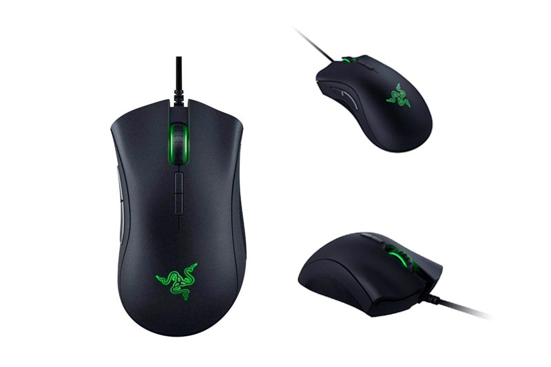 Razer DeathAdder Elite: True 16,000 5G Optical Sensor - Razer Mechanical Mouse Switches (Up to 50 Million Clicks) - Ergonomic Form Factor - Esports Gaming Mouse