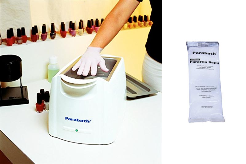 Parabath Paraffin Wax Refill for Hands & Feet, Bulk 6 lbs of Unscented Paraffin in 1 Pound Bags, Use in TheraBand Parabath Paraffin Wax Heating Bath, Low Melt Wax for Heat Therapy Pain Relief