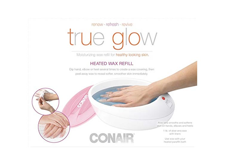 True Glow by Conair Thermal Paraffin Bath Wax Refill; replacement wax for Model PB8NR
