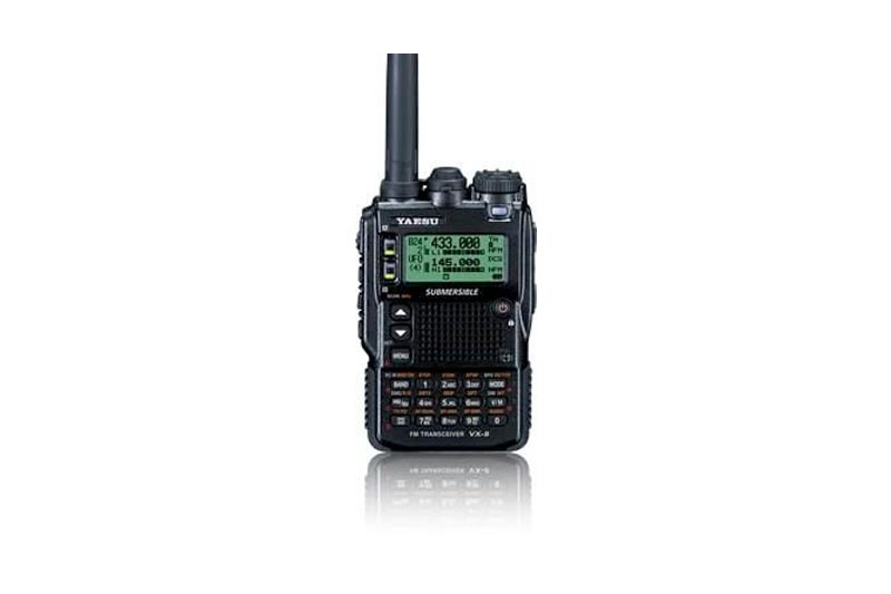 Yaesu VX-8DR Quad-Band Submersible VHF/UHF Amateur Radio Transceiver