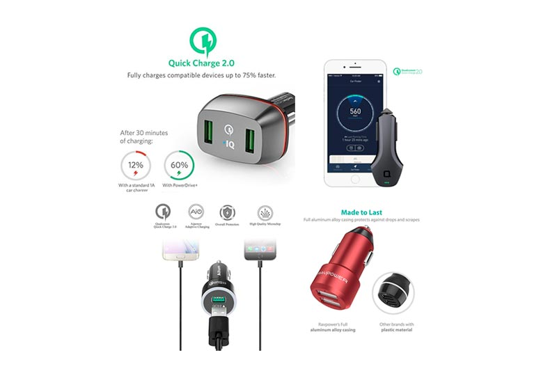 Best Micro USB Car Chargers to Buy in Review 2018
