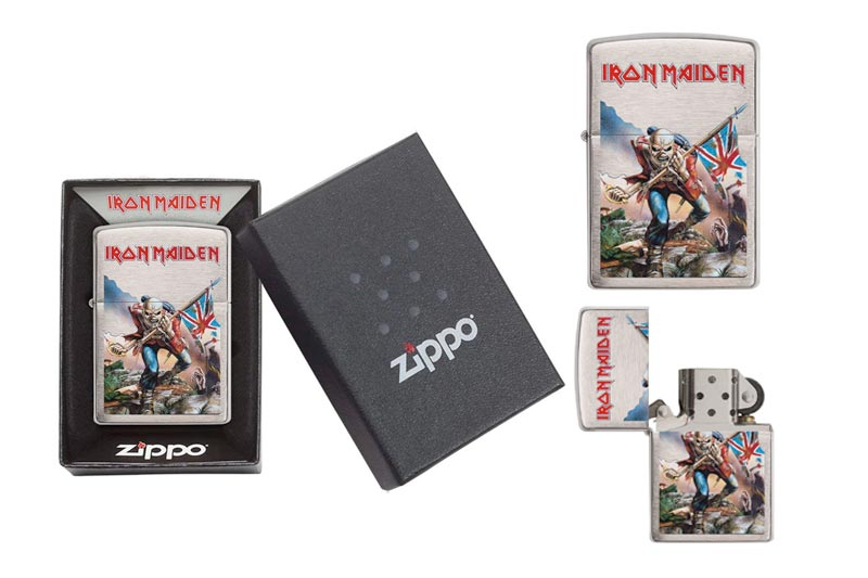 Zippo Iron Maiden Lighters
