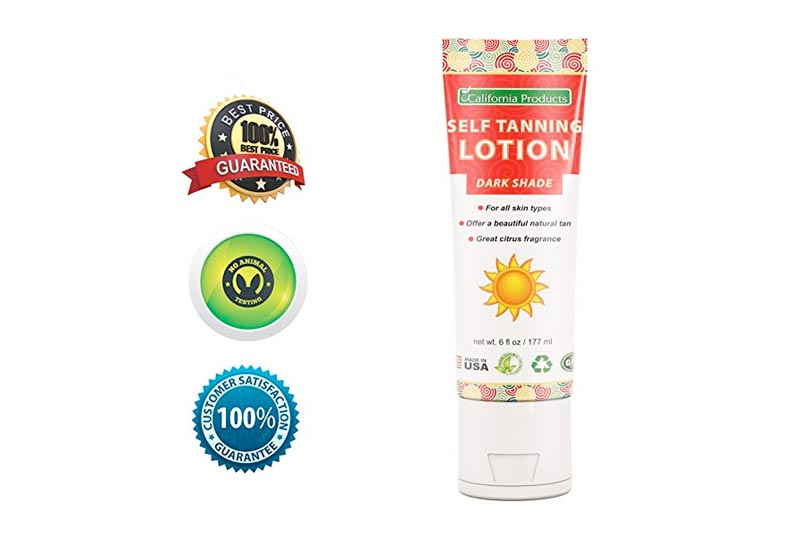 DARK SELF TANNING LOTION FOR FACE AND BODY – Best Dark Self Tanner