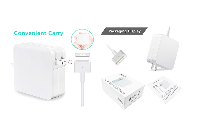 Macbook Pro Charger, 85W MagsSafe 2 Power Adapter for Apple Macbook Pro