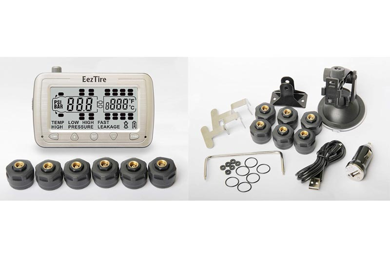 EEZTire Tire Pressure Monitoring System - 6 Sensors (TPMS 6) incl. 3-Year Warranty (1)