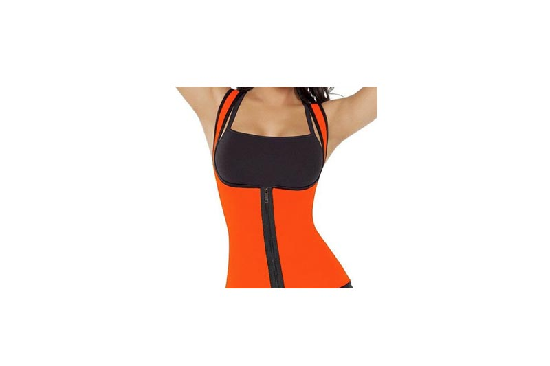 Women's Slimming Neoprene Vest Hot Sweat Shirt Body Shapers for Weight Loss