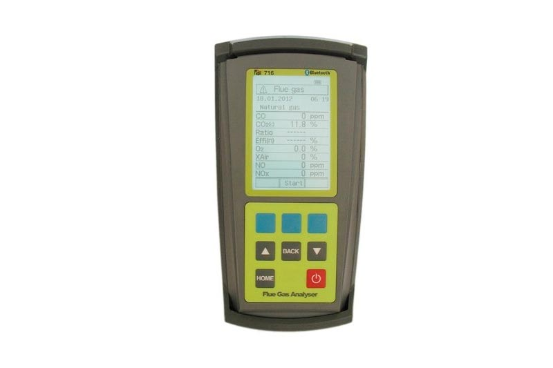 TPI 716N, Flue Gas/Combustion Analyzer, 1 pc