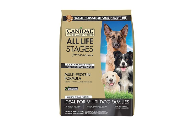 CANIDAE All Life Stages Dry Dog Food for Puppies, Adults & Seniors Chicken, Turkey, Lamb, & Fish