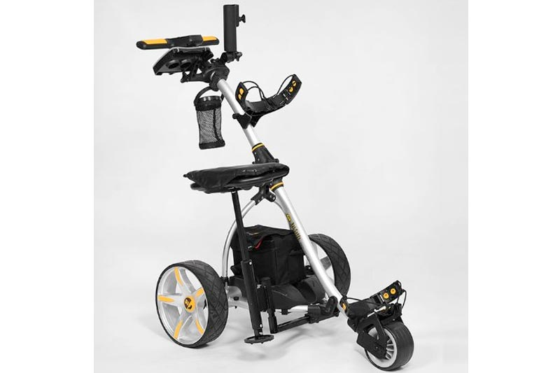 Bat-Caddy X3R Electric Golf Caddy + FREE Accessory Pack