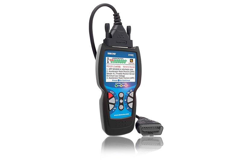 Innova 3100j Check Engine Code Reader Scan Tool with ABS, SRS, EVAP, and Freeze Frame