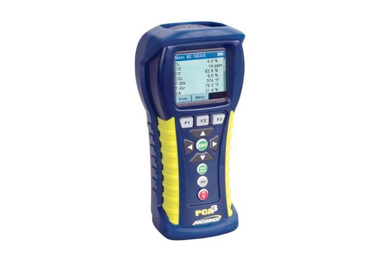 Bacharach PCA3 245 0024-8442 Portable Combustion Analyzer with O2, CO and CO High Sensor, U.S. Based Calculation