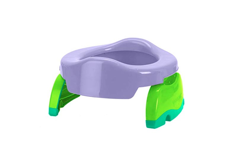 Kalencom Potette Plus 2-in-1 Travel Potty Trainer Seat Lilac
