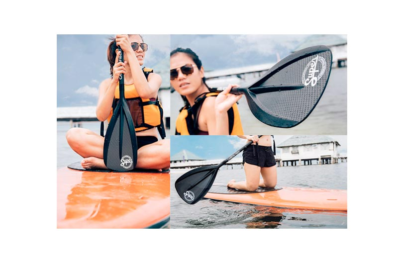Carbon Fiber Sup Paddle for Outdoor Surfing in Review 2018