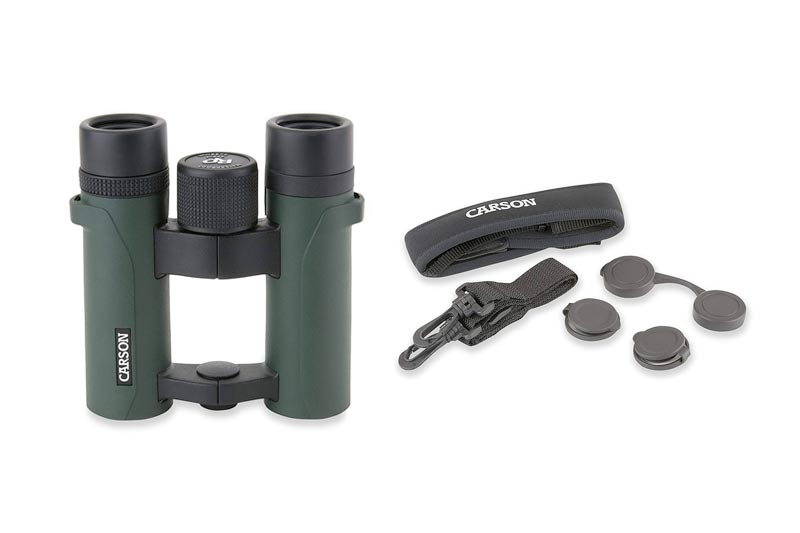 Carson RD Series Open-Bridge Compact or Full Sized Waterproof High Definition Binoculars For Bird Watching, Hunting, Sight-Seeing, Surveillance, Safaris, Concerts, Sporting Events, Travel, Camping and other Outdoor Adventures